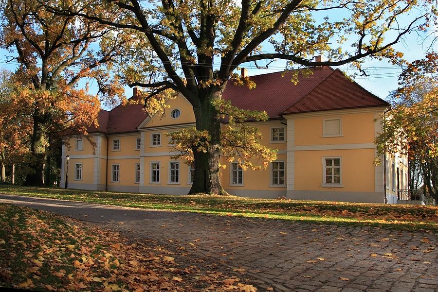 Pałac Sczanieckich Jesienią