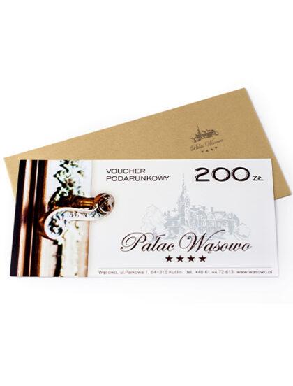 Voucher Podarunkowy 200 Zl Palac Wasowo