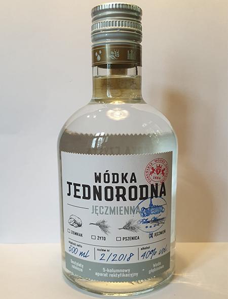 Wodka Czysta Jednorodna 500 Ml Palac Wasowo