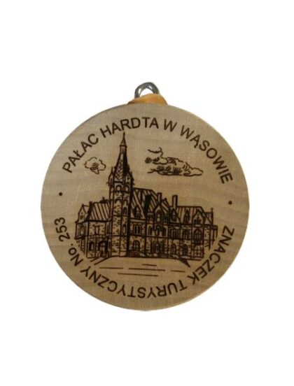 Znaczek Turystyczny Palac Wasowo